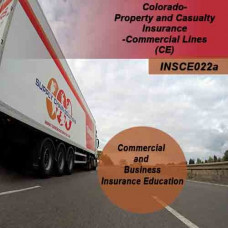 Colorado: 3hr Property and Casualty CE- Commercial Lines Property and Casualty Insurance CE