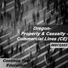 Oregon - Property and Casualty Insurance - Commercial Lines (6hrs CE)